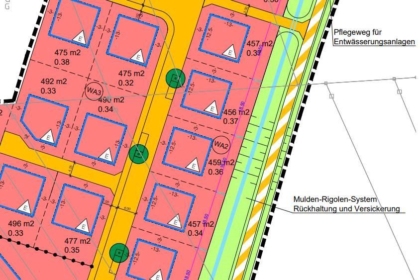 Stadtplan Wasserloch Breisach am Rhein